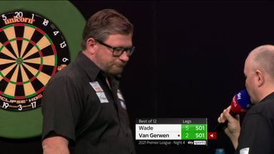 Wade fires home a 121 checkout