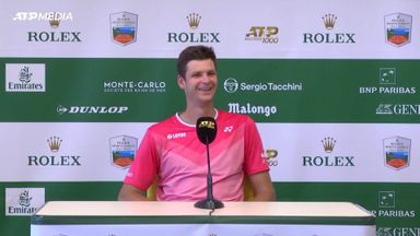 The most awkward tennis press conference ever?