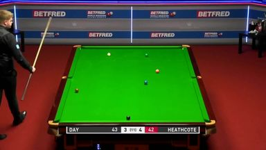 Heathcote's outrageous snooker trick shot!