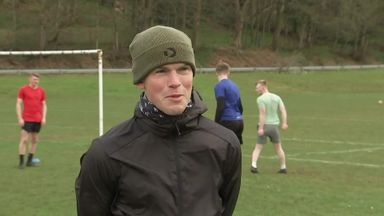 Wardrop: I've played a marathon of football this week!