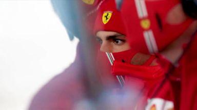 Sainz settling in at Ferrari