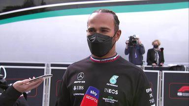 Hamilton shocked at pole
