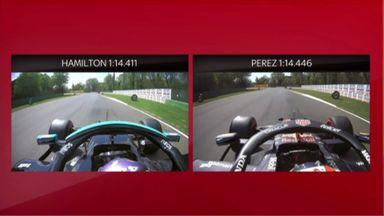 SkyPad: Hamilton vs Perez