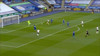 Mahrez fires wide from close-range (78)