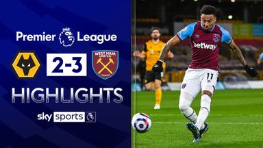 Lingard stars as West Ham win at Wolves