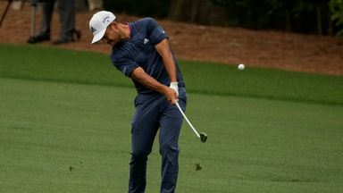 The Masters: Day two top shots