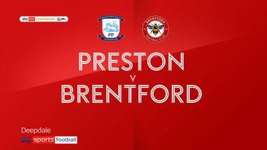 Preston 0-5 Brentford