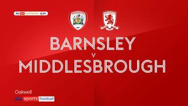 Barnsley 2-0 Middlesbrough