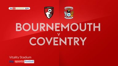 Bournemouth 4-1 Coventry