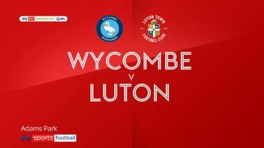 Wycombe 1-3 Luton