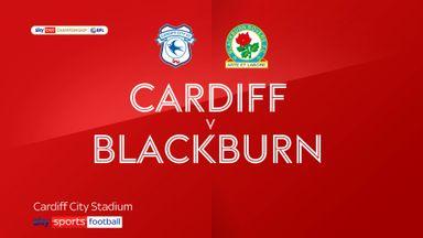 Cardiff 2-2 Blackburn