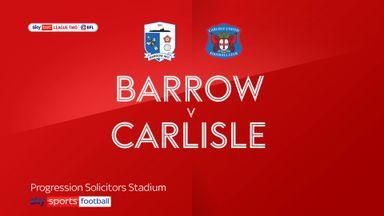 Barrow 2-2 Carlisle