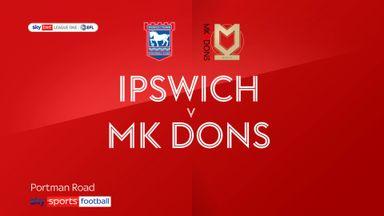 Ipswich 0-0 MK Dons