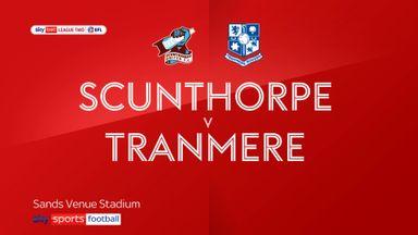 Scunthorpe 0-0 Tranmere