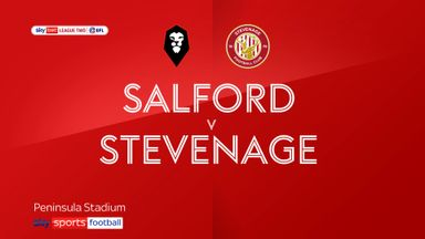 Salford 2-1 Stevenage