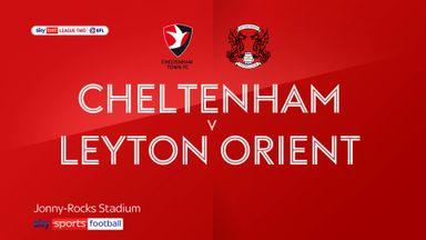 Cheltenham 1-0 Leyton Orient