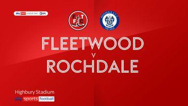Fleetwood 1-0 Rochdale