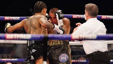 Benn KOs Vargas in first round