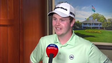 MacIntyre happy with Masters progress