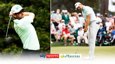 The Masters: Day three top shots
