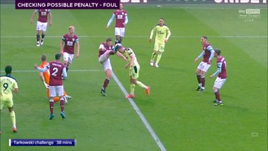 Should Newcastle have had a penalty?
