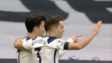 Son gives Tottenham the lead! (40)