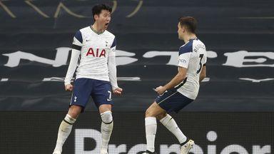 HT Tottenham 1-0 Manchester Utd