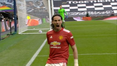 Cavani diving header puts Man Utd in front! (79)