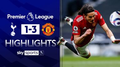 Man Utd dent Spurs' top-four hopes