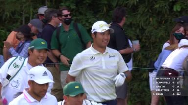 Matsuyama's big break at Amen Corner