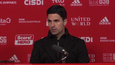 Arteta pleased with Arsenal attitude