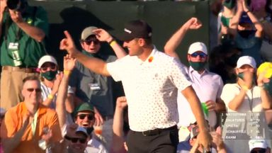 Rose signs off with walk-in birdie!