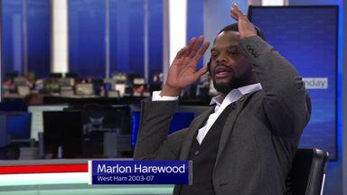 Harewood's West Ham nerves on show!