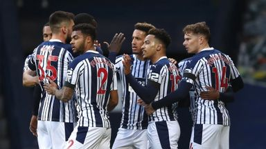 HT West Brom 2-0 Southampton