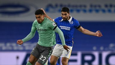 HT Brighton 0-0 Everton