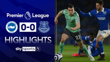 Brighton move towards safety with Everton draw