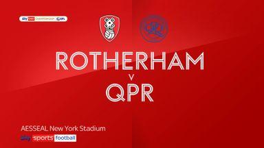 Rotherham 3-1 QPR