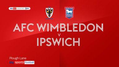 AFC Wimbledon 3-0 Ipswich