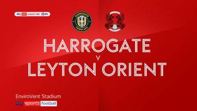 Harrogate 2-2 Leyton Orient