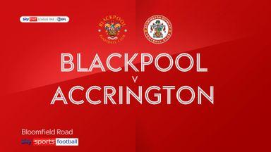 Blackpool 0-0 Accrington