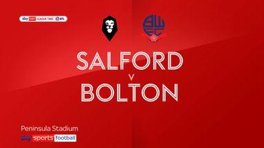 Salford 0-1 Bolton
