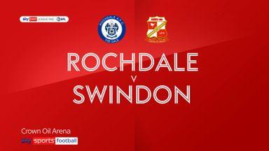 Rochdale 2-1 Swindon