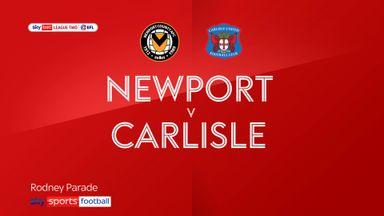 Newport 0-0 Carlisle