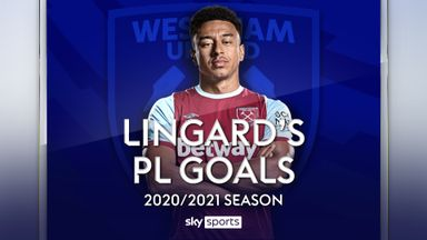 Lingard's PL Goals 2020-21