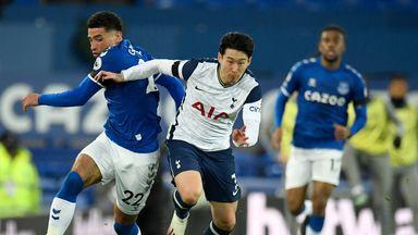 HT Everton 1-1 Tottenham
