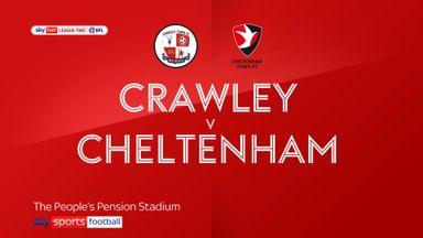 Crawley 1-0 Cheltenham