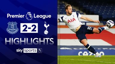 Kane, Sigurdsson hit doubles as Everton and Spurs draw