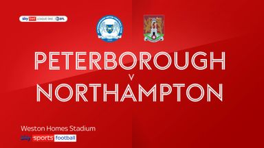 Peterborough 3-1 Northampton