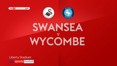 Swansea 2-2 Wycombe