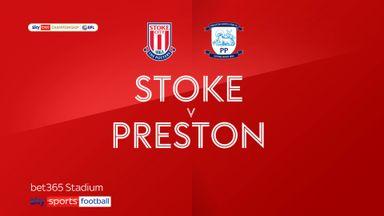 Stoke 0-0 Preston